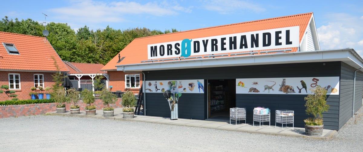 Besøg hos Morsø Dyrehandel