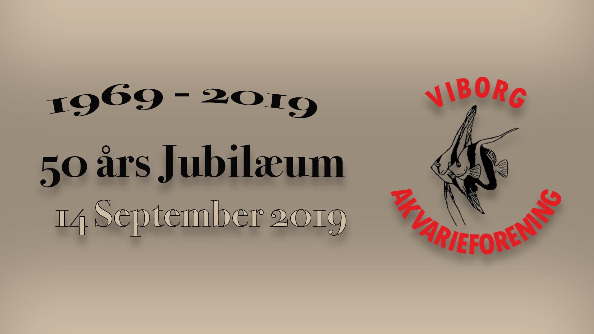 Viborg Akvarieforenings 50 års jubilæum