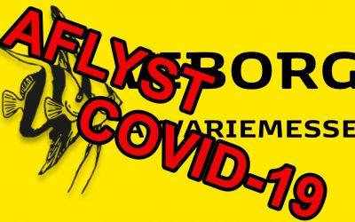 Viborg Akvariemesse aflyses p.g.a. Covid-19